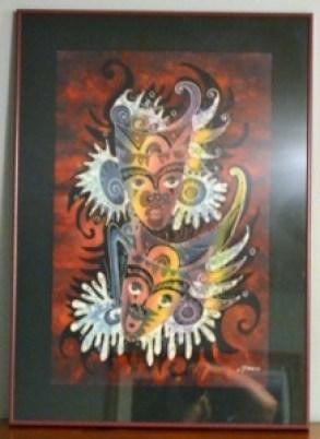 masks batik