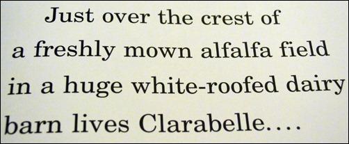 Clarabelle beginning