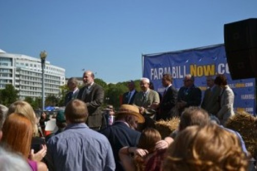 Farm Bill Now rally