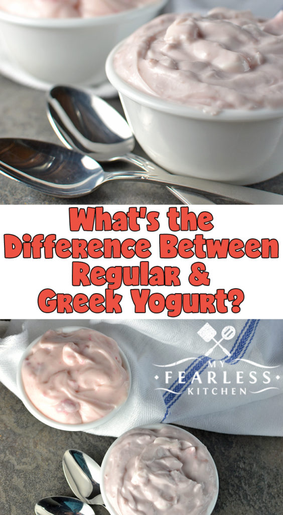 What\'s the difference between regular and Greek yogurt?