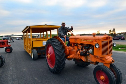 tractor drive on the interstate