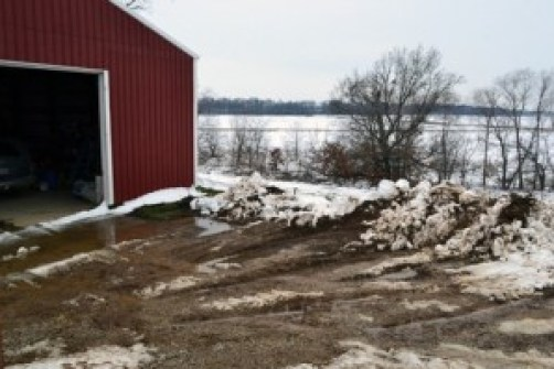 garage plowed out