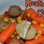 Slow-cooker hearty meatball stew