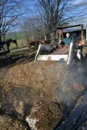 Farmer Doc in the tractor