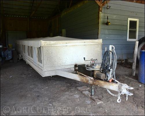 turkey transport trailer