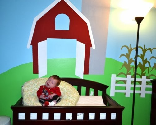 Baby Doc 1 month barn