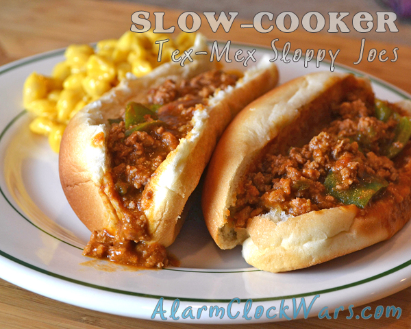 slow-cooker tex-mex sloppy joes