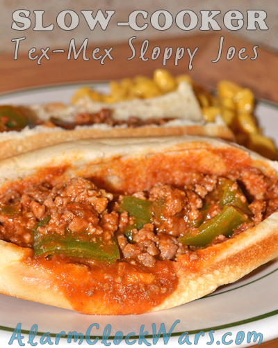 Slow-Cooker Tex-Mex Sloppy Joes - My Fearless Kitchen