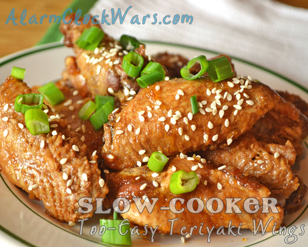 slow-cooker too easy teriyaki wings