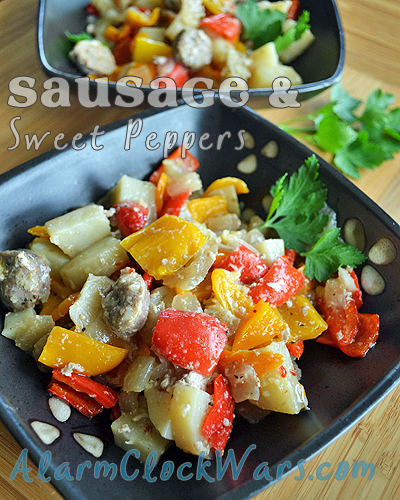 sausage & sweet peppers