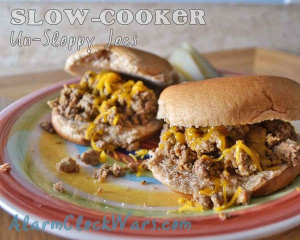 slow-cooker un-sloppy joes