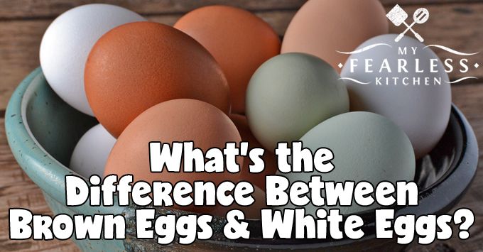 brown eggs, white eggs, and green eggs in a bowl