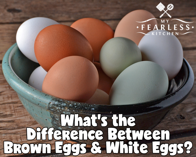 brown eggs, white eggs, and green eggs in a green and black bowl