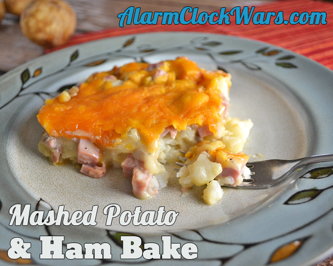 Mashed potato ham bake my fearless kitchen this recipe for mashed potato ham bake is a great way to use up leftover forumfinder Images