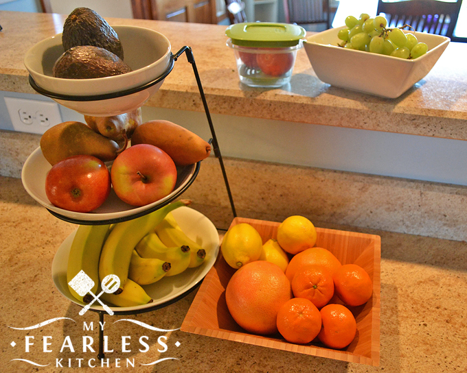 fruits to store on the counter instead of in the refrigerator