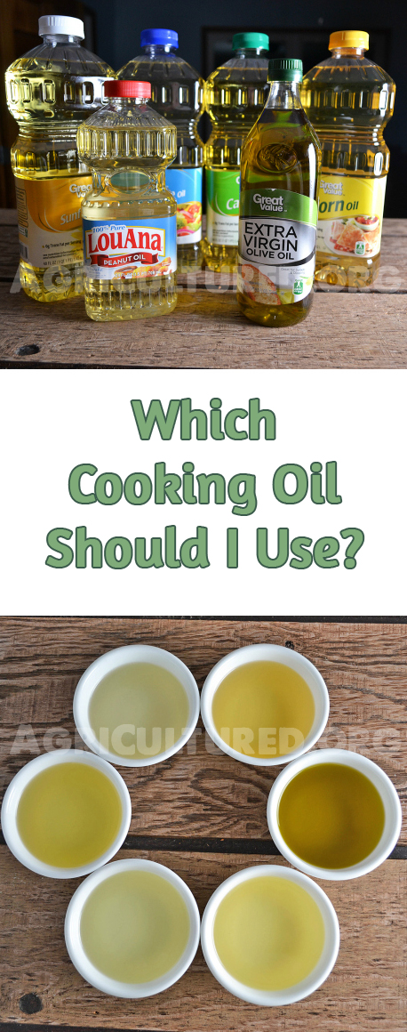 Which Cooking Oil Should I Use My Fearless Kitchen
