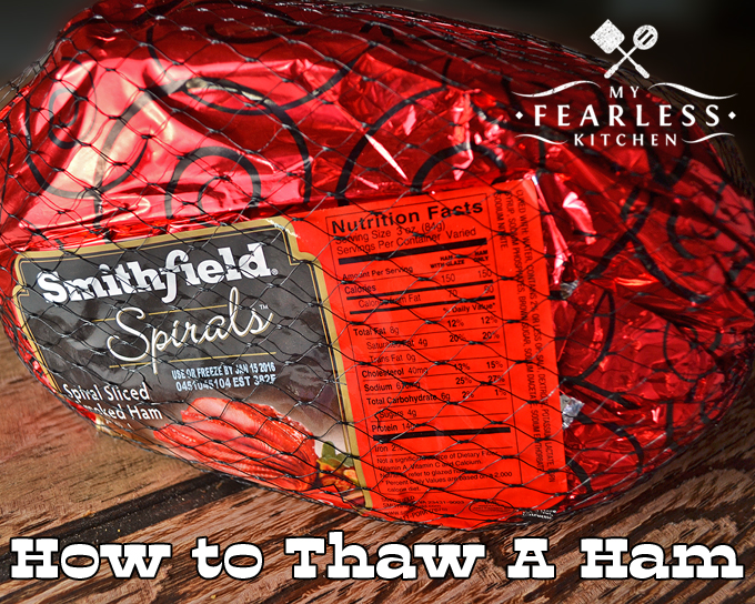 How to Thaw a Ham from My Fearless Kitchen. Don't just think of ham as a holiday meal! Stock up when they are on sale, and store them in your freezer. Keep reading for some tips on how to thaw a ham.