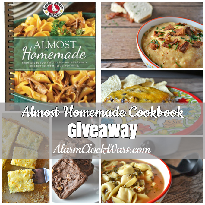 """Do you need some shortcuts for the kitchen? Gooseberry Patch's """"Almost Homemade"""" cookbook is packed with plenty of recipes that are """"almost"""" home-cooked! Find some tips, tricks, and shortcuts that will have your family think you slaved for hours in the kitchen... and enter for your chance to win a copy of this cookbook!"""
