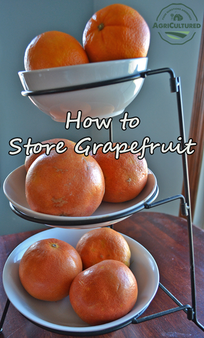 If you'll use your grapefruit within a week, store it at room temperature on your counter or in an open bowl.