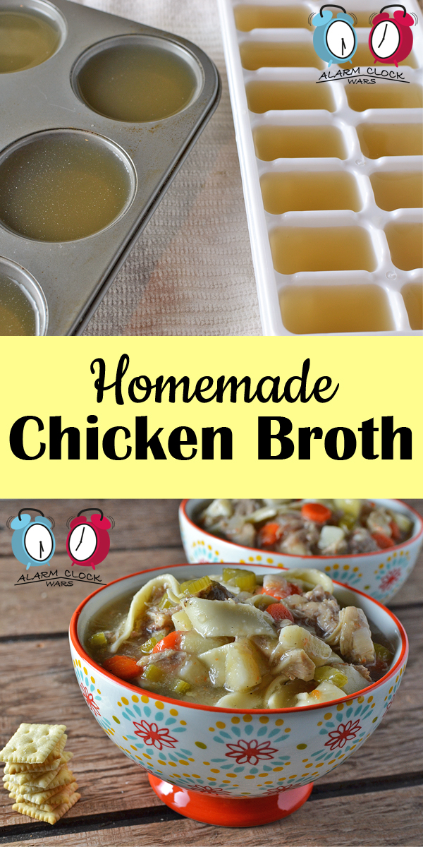 Easy Homemade Chicken Broth - My Fearless Kitchen