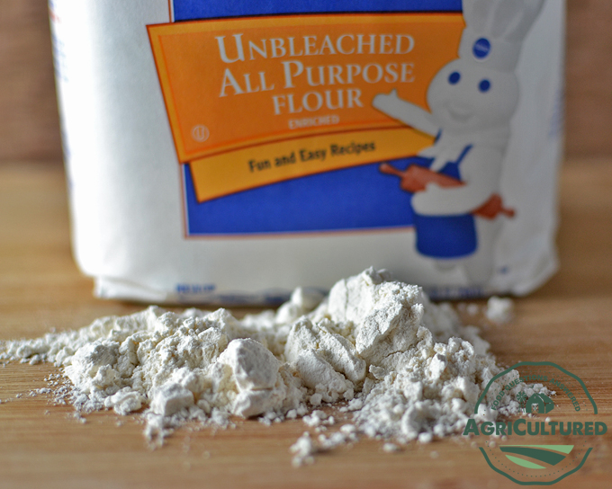 Unbleached All Purpose Flour on AgriCultured. Flour comes in many different varieties. Take a closer look at some of the more common types of flour, and how they are different.