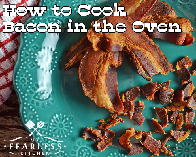 how to cook frozen bacon in the oven