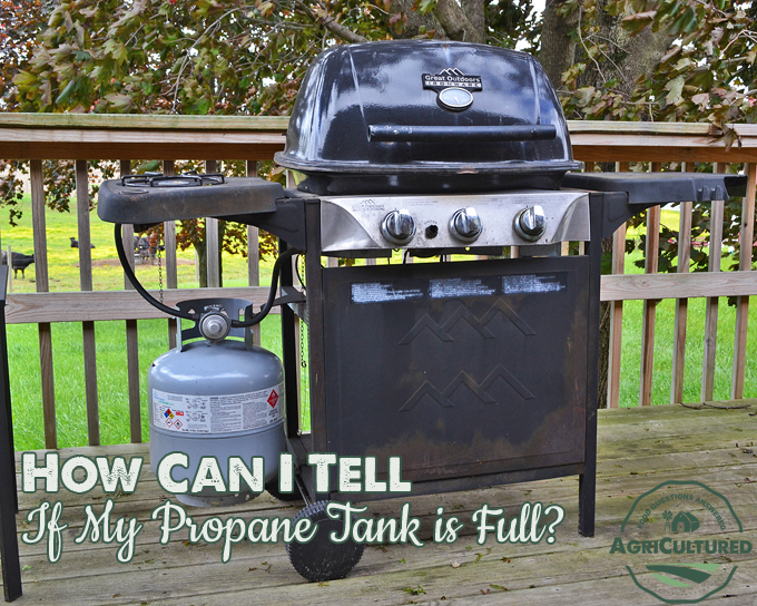 how to clean out a propane tank