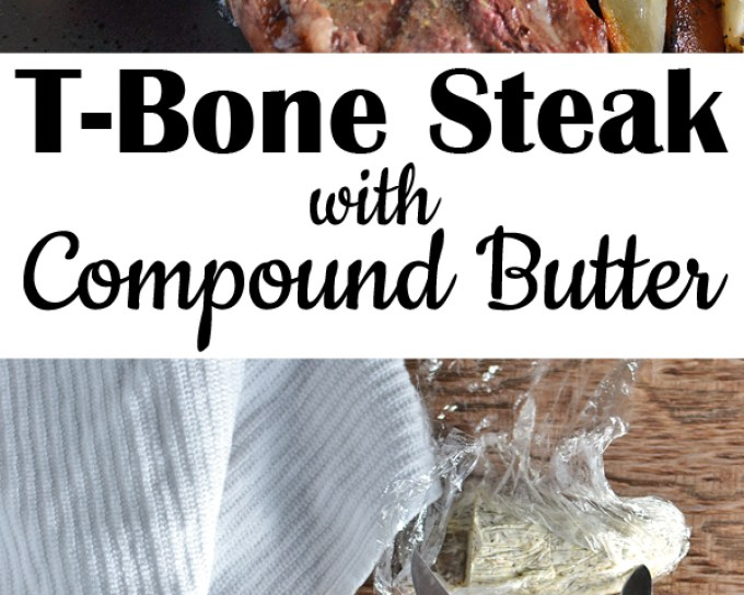 T-Bone Steak with Compound Butter on Alarm Clock Wars