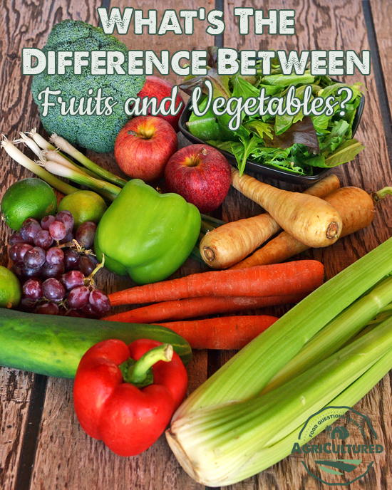 healthy fruit choices difference between fruits and vegetables