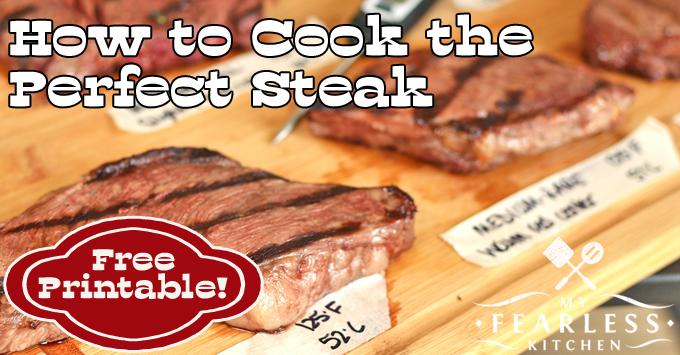 steaks on a wooden cutting board