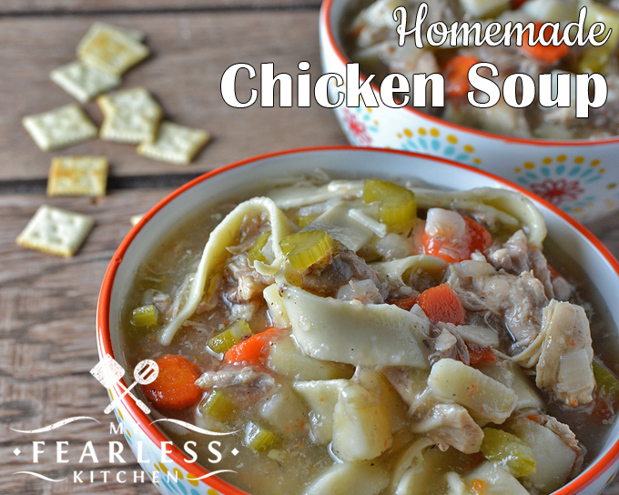 Homemade Chicken Soup From My Fearless Kitchen. Thereu0027s Nothing Wrong With  Canned Chicken Soup,