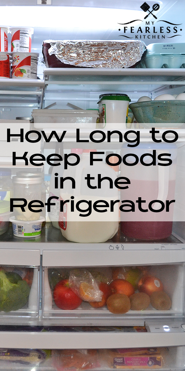 Food Storage Guidelines - How Long to Keep Foods in the Refrigerator ...
