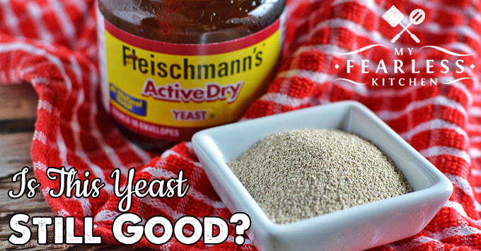 Is this Yeast Still Good? from My Fearless Kitchen. Yeast is a living organism. It's best to proof, or test, yeast before you bake with it. Find out how to tell if your yeast is still good.