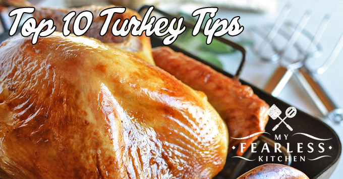 Is This Turkey Done? from My Fearless Kitchen. With a big piece of meat like a turkey and a whole houseful of people ready for dinner, you want to be sure you get it right! These tips will help you know when the turkey is done.