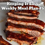 Easy Weekly Meal Plan #5