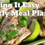 Easy Weekly Meal Plan #15