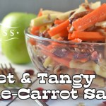 Sweet and Tangy Apple-Carrot Salad
