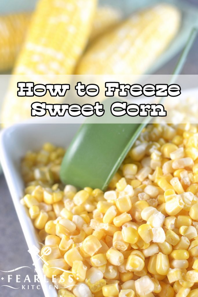 How to Freeze Sweet Corn Video from My Fearless Kitchen. Do you want to save that delicious sweet corn for another day? Use this fast and easy trick to freeze sweet corn and you can enjoy fresh sweet corn anytime!