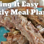 Easy Weekly Meal Plan #29