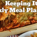 Easy Weekly Meal Plan #36
