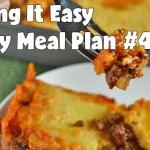 Easy Weekly Meal Plan #46