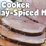 Slow Cooker Holiday-Spiced Ham