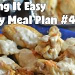 Easy Weekly Meal Plan #49