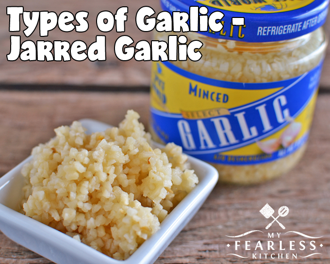 Different Types of Garlic from My Fearless Kitchen. There are more garlic options than the one variety in the produce section in your grocery store. Find out more about different types of garlic.