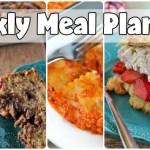 Weekly Meal Plan #55