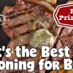 What is the Best Seasoning for Beef?