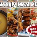 Easy Weekly Meal Plan #61