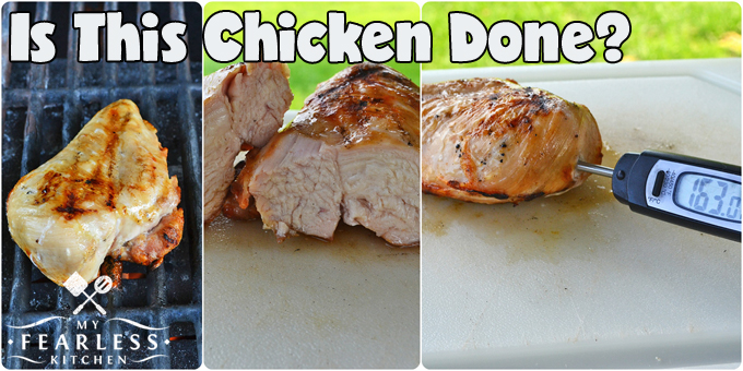 collage of cooked chicken breasts