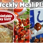Easy Weekly Meal Plan #65