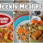 Easy Weekly Meal Plan #66